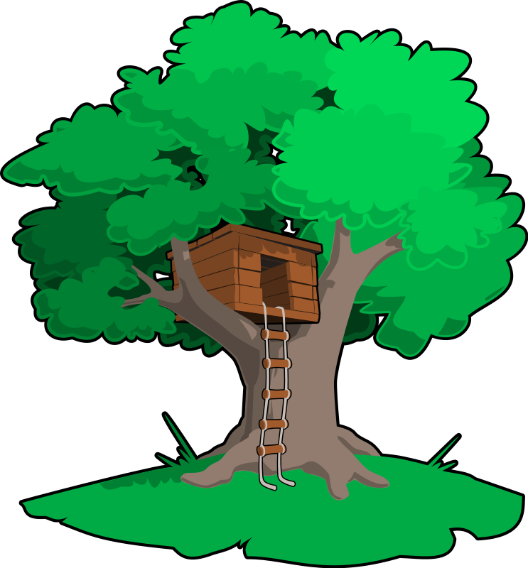 Outside clipart house tree Images clipart house 18 tree