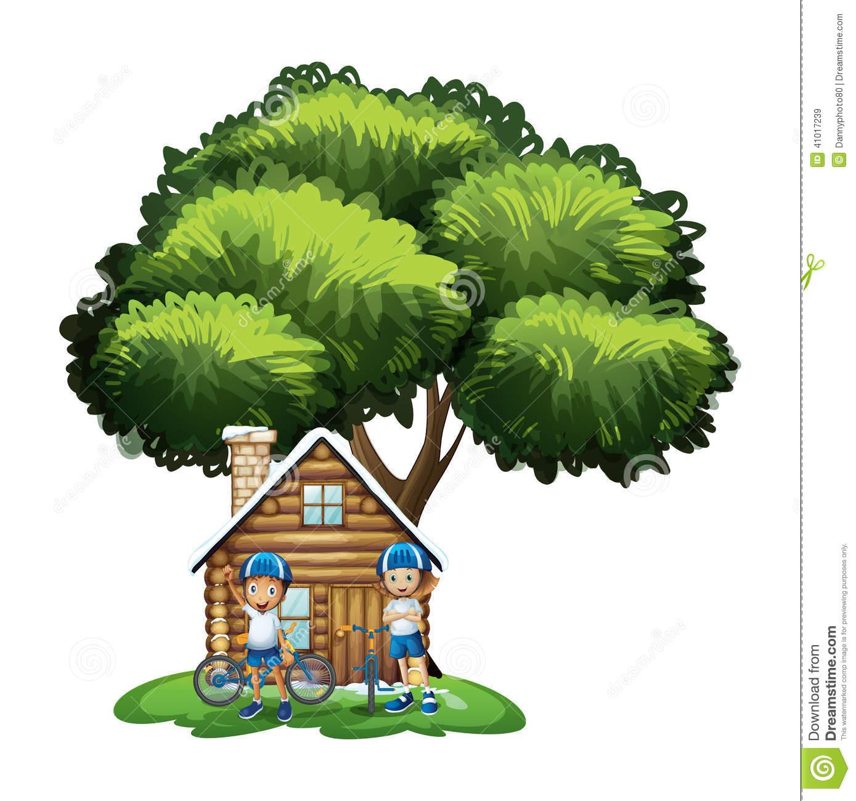 Outside clipart house tree Collection Outside House Outside The