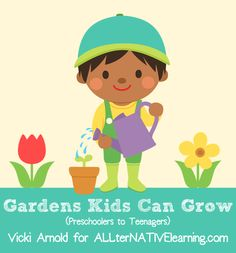 Outside clipart kid garden Flowers Printable – Ideas Great