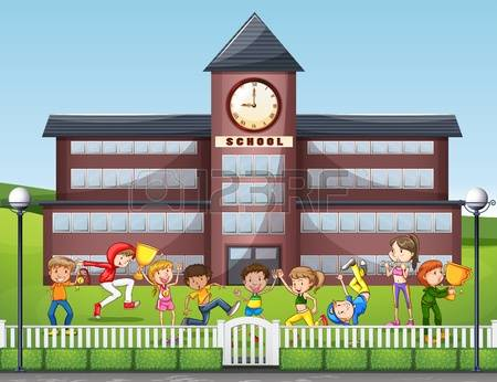 Outside clipart may May Crescent  kids clipart