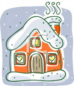 Outside clipart snow In While House Smoke Out