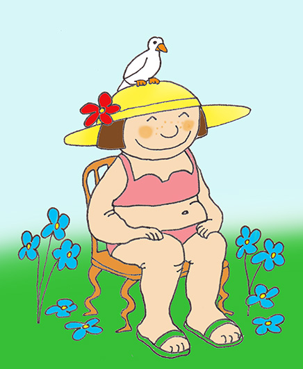 Summer clipart happy person #5