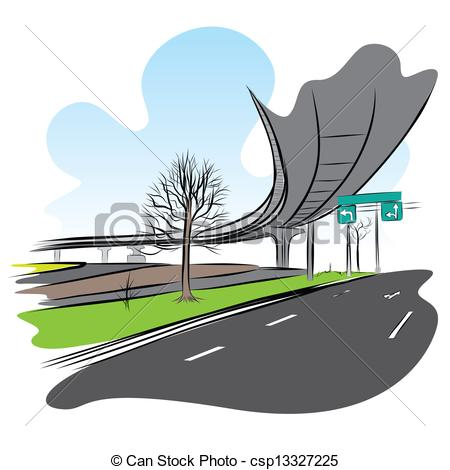 Overpass clipart Stock train  Images