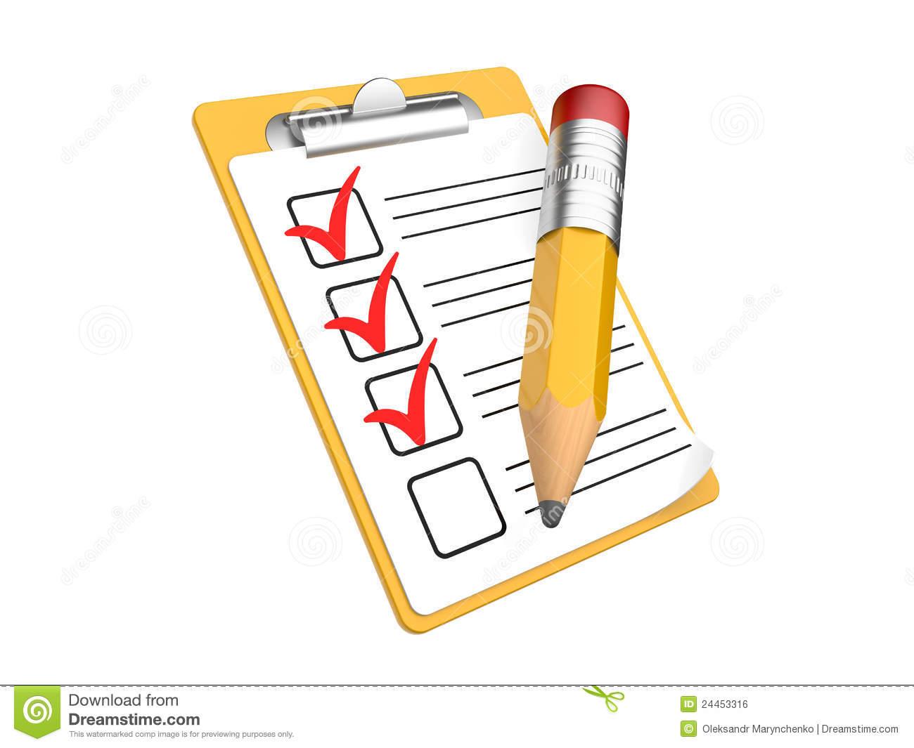Overview clipart checklist Checklist Present Checklist Download Clipart