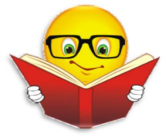 Reading book smiley Facts Interesting