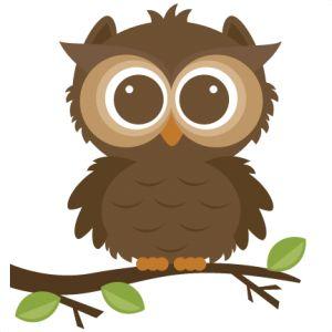 Owlet clipart Cute clipart cut svgs art