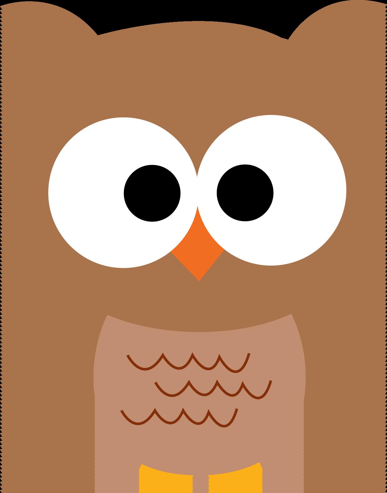 Brown Hawk Owl clipart cute cartoon Owl by Art com Free