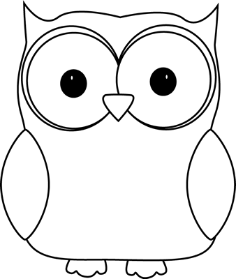 Owlet clipart black and white Black and Art Clip Owl