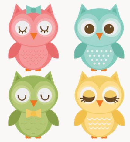 Owl clipart blue and green On Pinterest art Best …