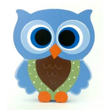 Owl clipart blue and green Owl crocheted babies crocheted eco