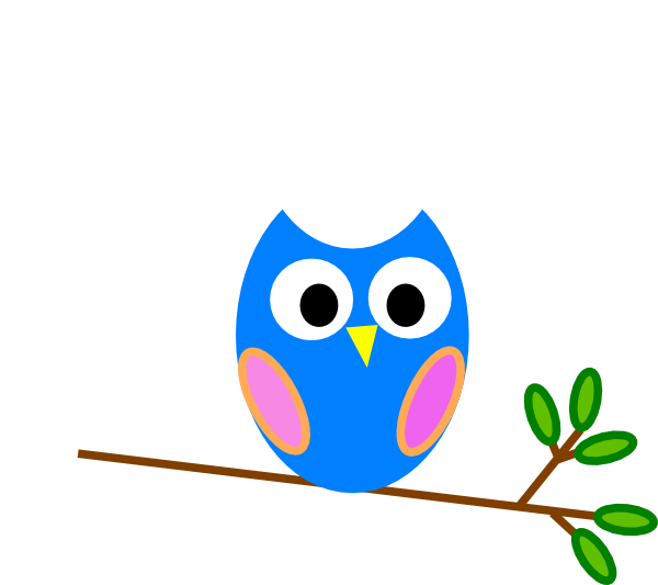 Simple clipart owl This vector at  Art