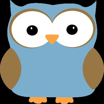 Light Blue clipart owl Blue Art Clip Blue Image