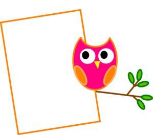 Owl clipart border And Art Art Clip Owls: