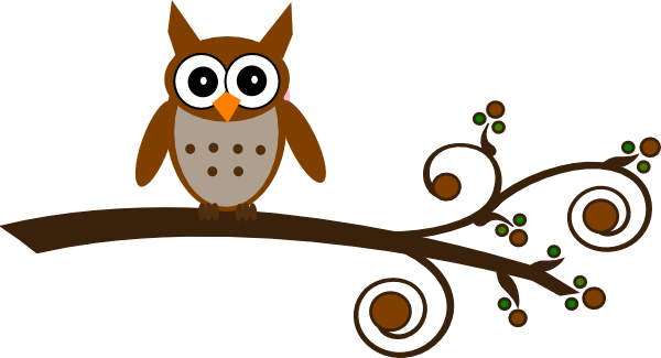 Owl clipart brown Online clip image Art as: