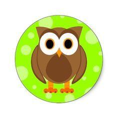 Owl clipart circle Brown royalty free a circle
