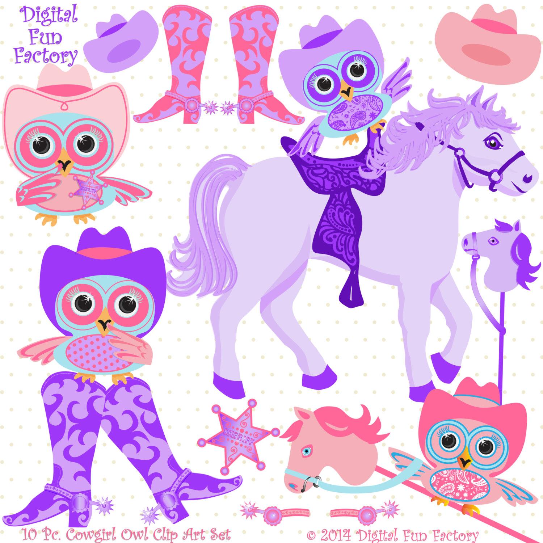 Owl clipart cowboy Clip art Western clip cowgirl