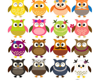 Owl clipart cowboy INSTANT clip and INSTANT for