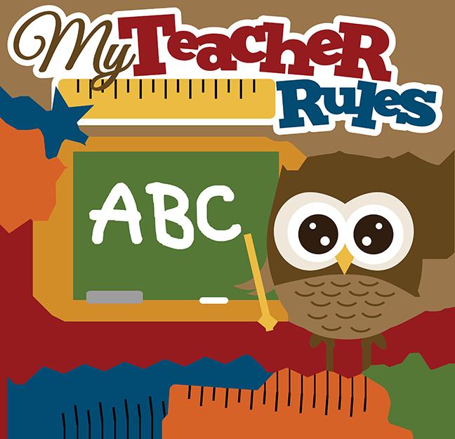 Owlet clipart cute teacher Teacher – Clipart 101 Owl