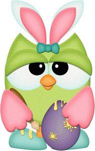Owlet clipart egg Y Photo lechuza lechuzín Easter