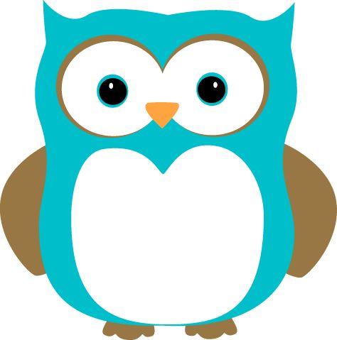 Light Blue clipart owl Blue Owl Cute Blue Clip