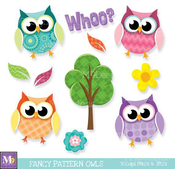 Owl clipart fancy Pinterest Art: Instant ClipArt Clipart