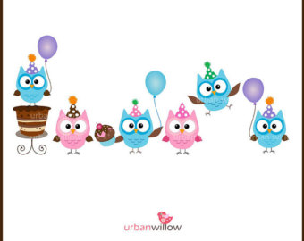 Owl clipart frame Zone Cliparts Party Cliparts borders