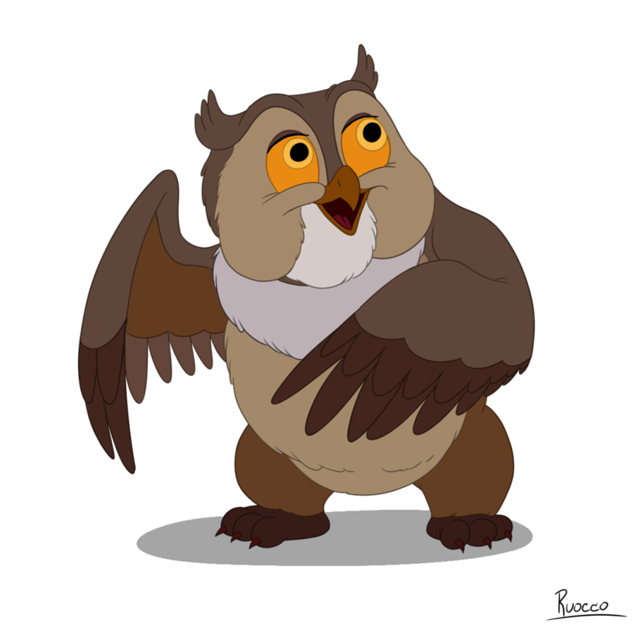 Owl clipart friend Friend Owl Friend Owl by