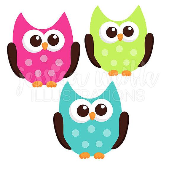 Owl clipart friend Pink Cute Friend and Cute