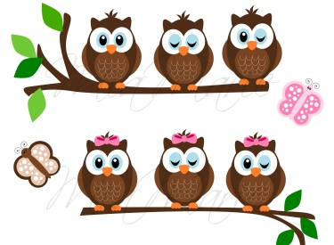 Owl clipart friend Meylah Friends Feathered (Owls