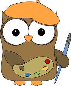 Owl clipart helper Balloons Owl Image Brown owl