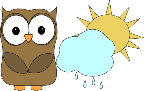 Owl clipart helper Weather Helper Weather Owl Classroom