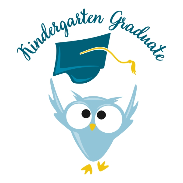 Owl clipart kindergarten  Cuttable Design Kindergarten Owl