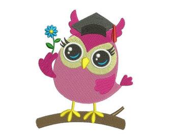 Owl clipart kindergarten Graduation 101 Graduation Art Clip