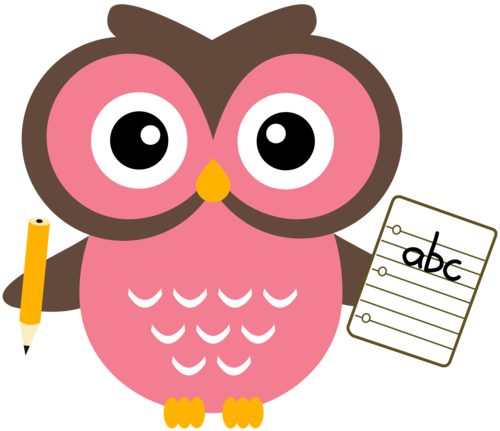 Owl clipart meeting Writing Owl Cliparts Cliparts Owl