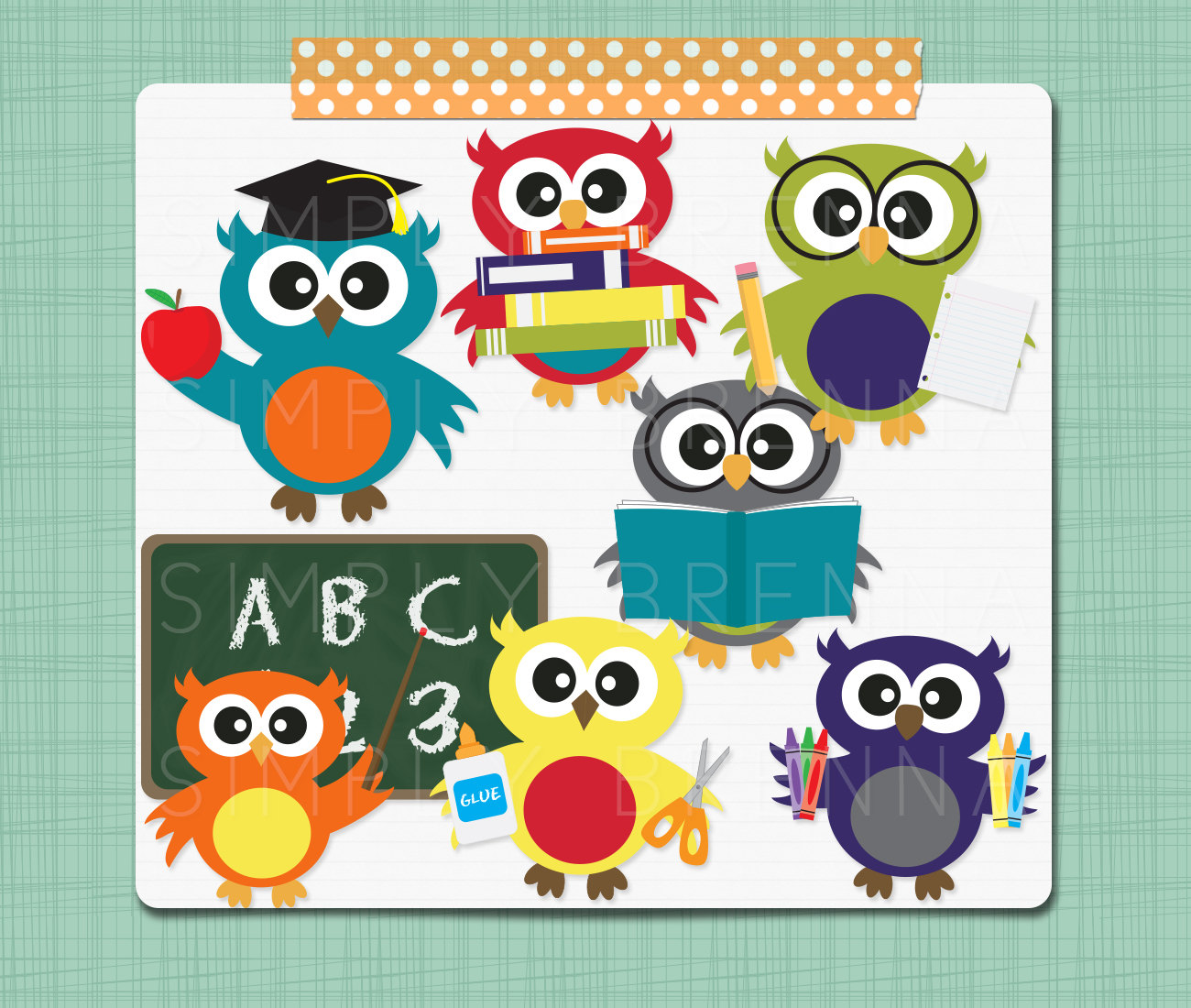 Owl clipart meeting School School Clipart Security Primary