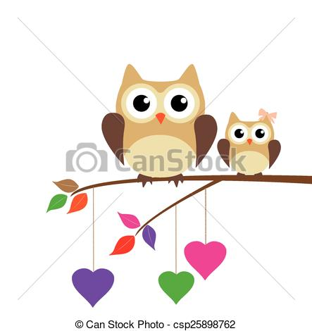 Owl clipart mom 2017 of collection clipart Art