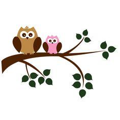Owl clipart mom Mom with mom owl Clipart
