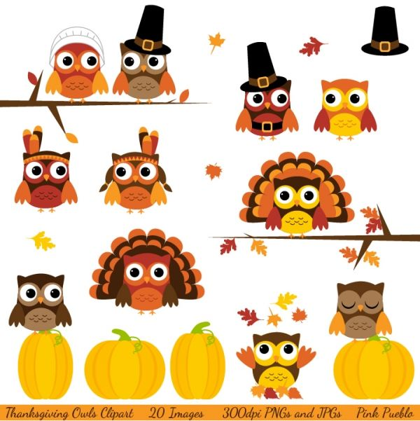 Owl clipart pilgrim Art images Pictures Resources 28