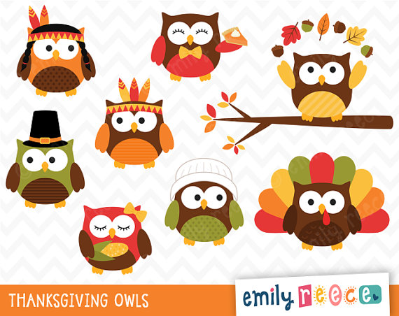 Owl clipart pilgrim Owls cute (52+) Clipart native