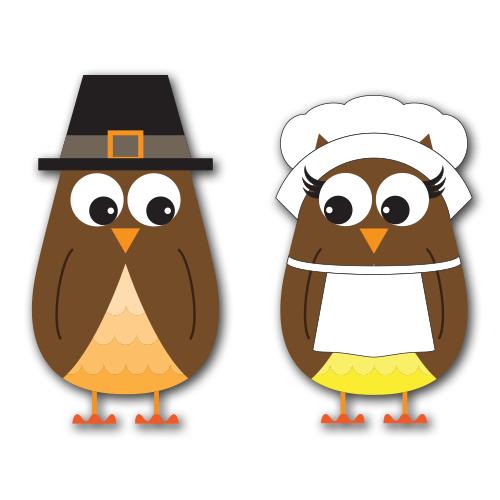 Owl clipart pilgrim Art Clip Clip DesignAbility Pilgrim