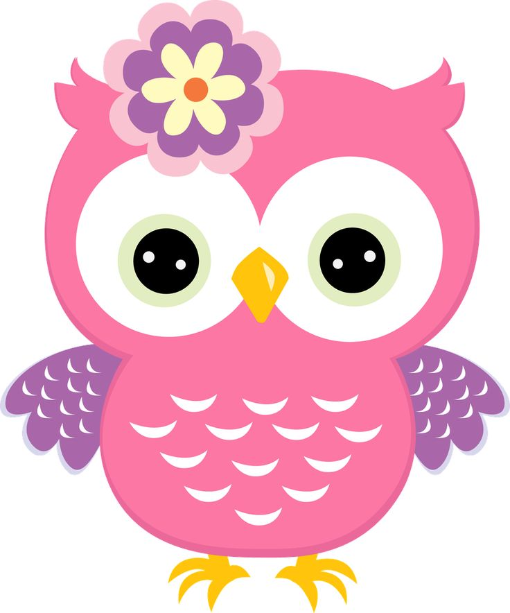 Owlet clipart pink and brown And 91 with more images