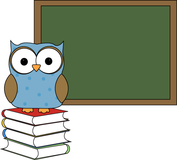 Book clipart chalkboard Owl Polka Chalkboard Dot with