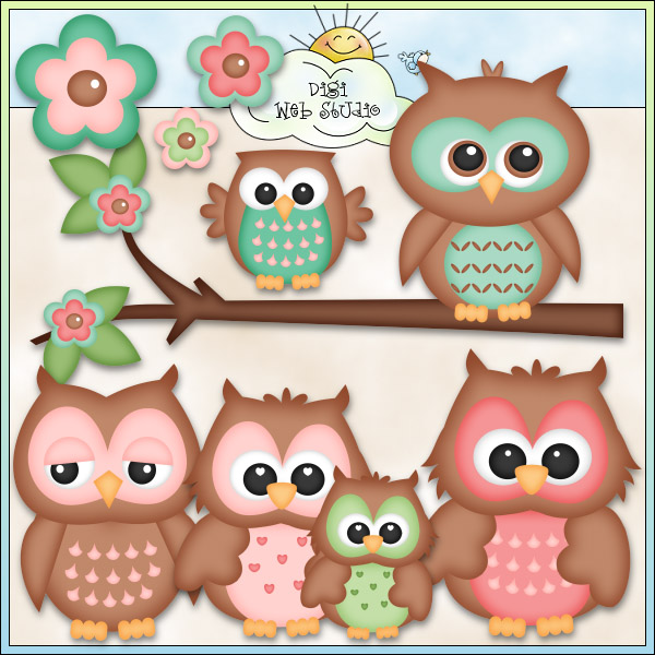 Country clipart owl Designs : Cute Web Studio