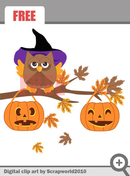Owl clipart pumpkin Owl Pumpkin  Clipart