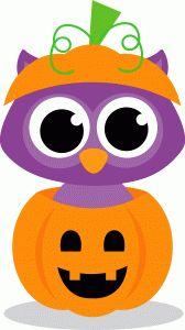 Owl clipart pumpkin Clip art I'm Store! ArtOwl