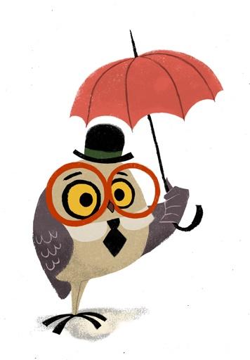 Owl clipart rain RAIN WAY!!! images GO by
