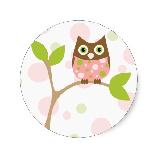 Owl clipart round Images Clipart Clipart Pink Clipart