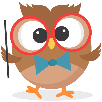 Owlet clipart cute teacher Clipart To school School to