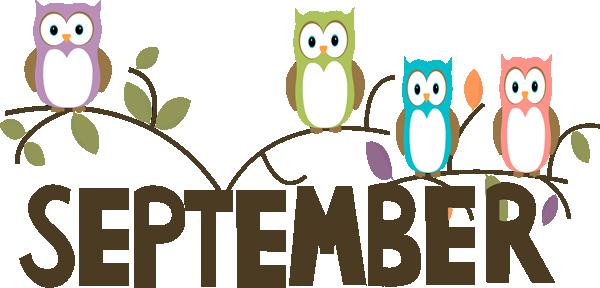 Calendar clipart september Clip Image word September Art