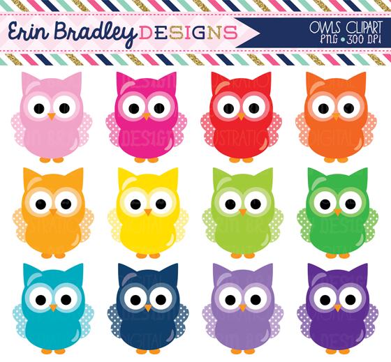 Owl clipart september Green Bradley sets & More